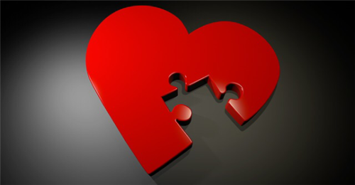 The puzzled heart